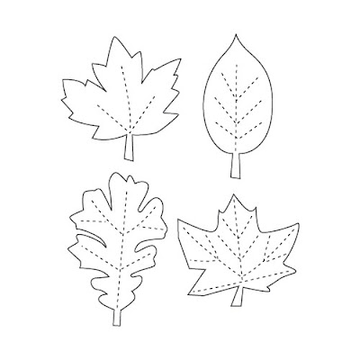 Decisive image regarding leaf template printable