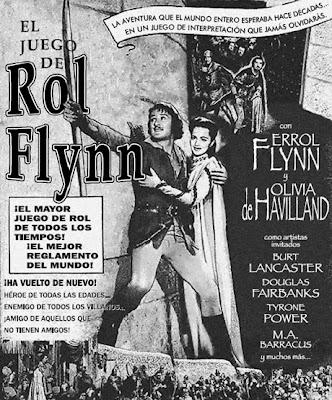 Portada del juego de rol de Rol Flynn.