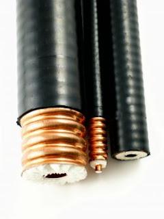 gambar kabel koaxial (coaxial cable)