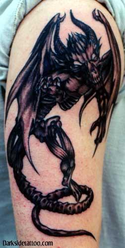 Alien Tattoo on Arm