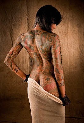 Yakuza Japanese Tattoo Woman
