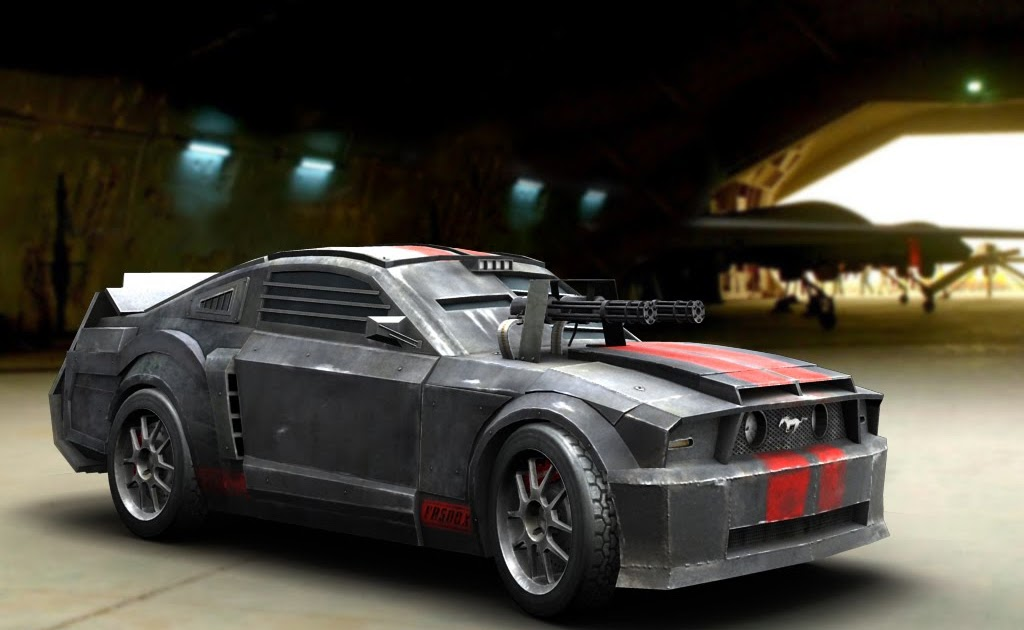 srinivas chimmani: death race Mustang car