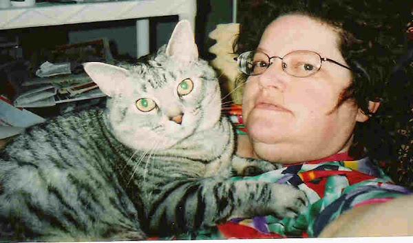 "Me & My 4-Legged ""Furbaby""."