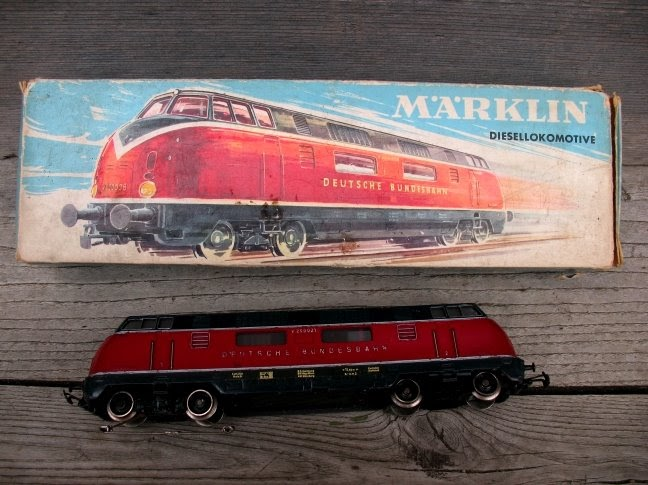 brocante 1515 brocante locomotive m rklin 3021. Black Bedroom Furniture Sets. Home Design Ideas