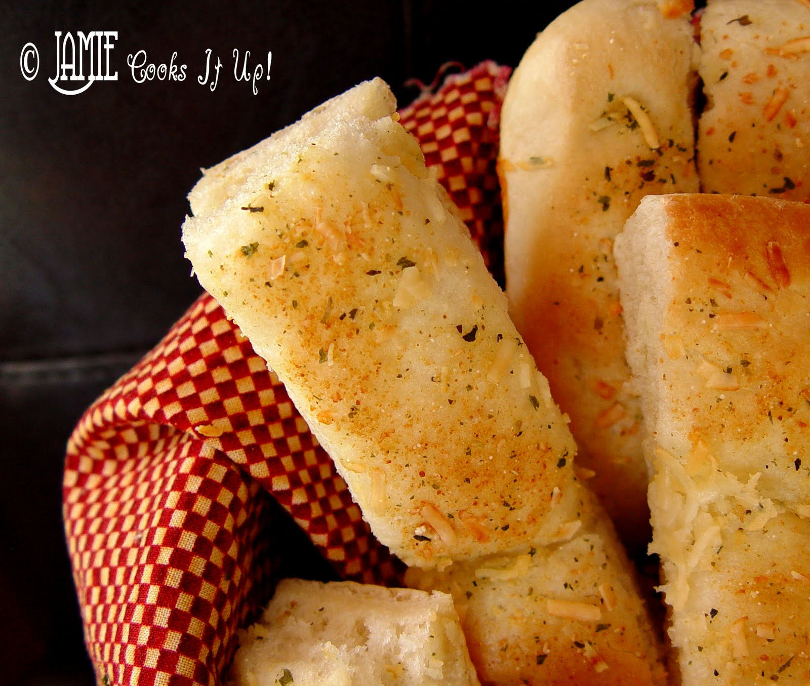 Quick and Easy Breadsticks | Chew On That