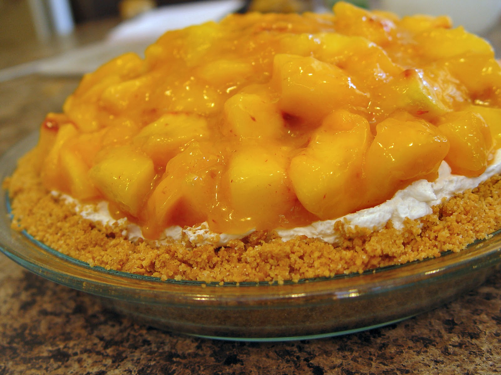peach pie with cream cheese recipe