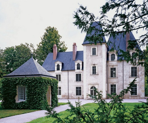 Heavenly homes      come take a look    The Enchanted HomeBeautiful tall French chateau