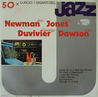 Cover Album of Newman, Jones, Duvivier, Dawson