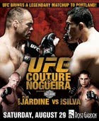 UFC 102 Couture vs Nogueira – 29 agosto 2009