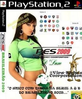 Pro Evolution Soccer 2009 - D'luxe Brasileirao Series A & B 2009 - NTSC