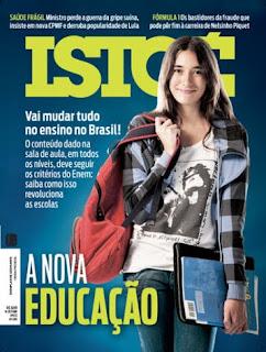 Revista Isto é  A Nova Educação