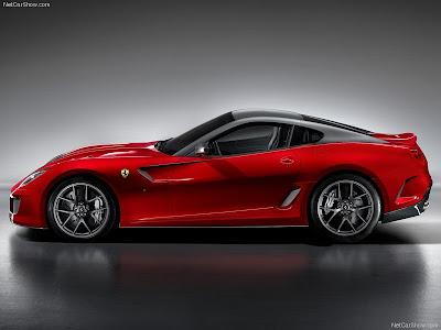 Ferrari 599 GTO 2011 fast sporty car