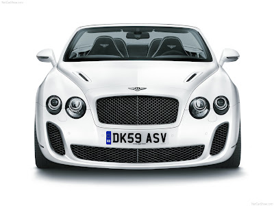 New Car Auto 2011 Bentley Continental Supersports Convertible