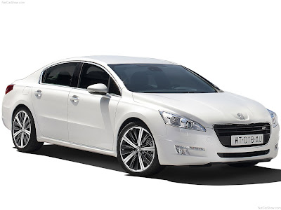 Peugeot 508 2011 new saloon