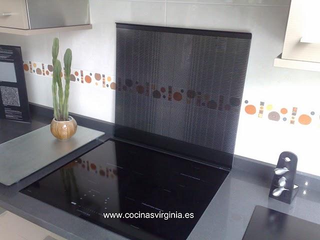 casas cocinas mueble protector de vitroceramica