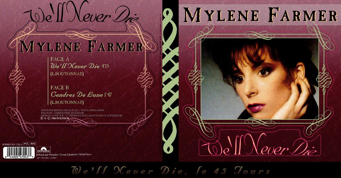 We'll Never Die dans Les Chansons de Mylène MYLENE+FARMER+-+We%2527ll+never+die+45t+web