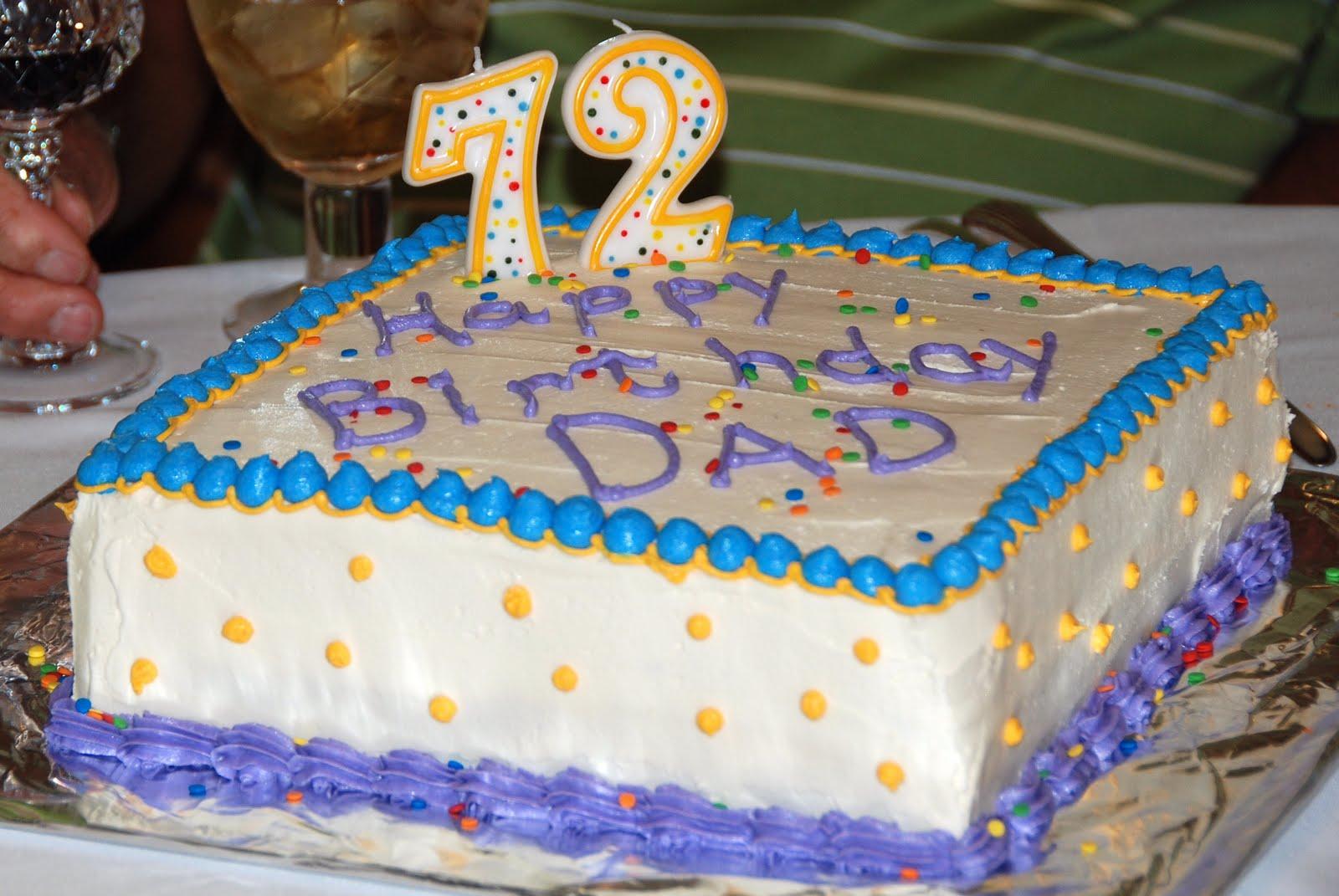 Miss Gingers Kitchen Happy Birthday Dad