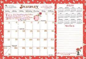 A Whimsical Garden Susan Branch Calendar And Desk Blotter - Desk blotter calendar