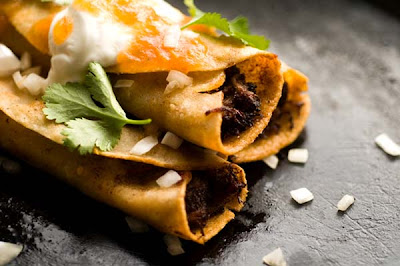 beef flautas