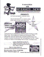 DIVERSITY NEWS#3960 AIDS WALK SIGN UP EVENT 9-24-2009