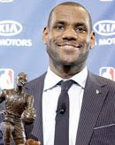 Lebron James MVP