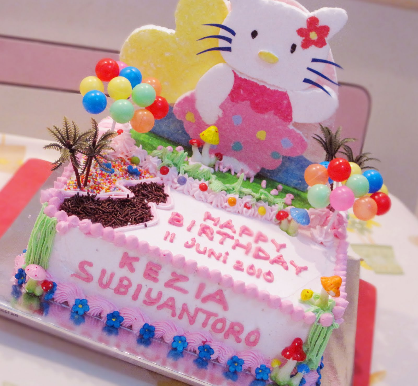 Hello Kitty Garden Tart