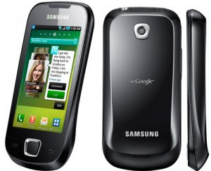 Samsung I5801 Galaxy 3 India
