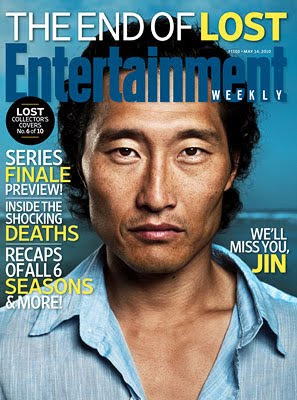 Entertainemnt Weekly Issue #1102 - May 14, 2010 - LOST Collector's Covers 6 of 10 - Daniel Dae Kim as Jin-Soo Kwon