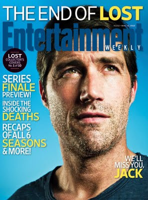Entertainemnt Weekly Issue #1102 - May 14, 2010 - LOST Collector's Covers 1 of 10 - Matthew Fox as Jack Shephard