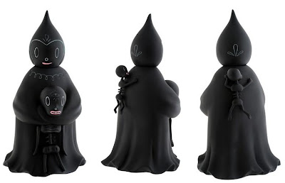 Kidrobot Black - 8 Inch Midnight Magi Vinyl Figure by Gary Baseman