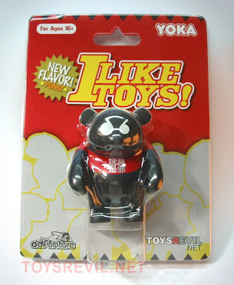 TOYSREVIL.net Exclusive 3 Inch YOKA Vinyl Figure in Packaging