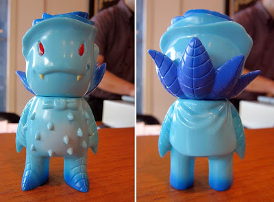 Super7 - Blue Frost Rose Vampire Vinyl Figure by Josh Herbolsheimer