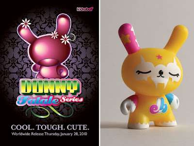 Exclusive 3 Inch Dunny Fatale Series KLOR Colorway