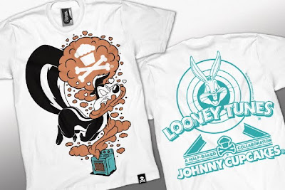 Johnny Cupcakes x Looney Tunes Pepe' Le Pew Valentine's Day T-Shirt