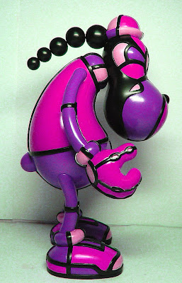 BIC Plastics - TwoBit Vinyl Figure by David Flores