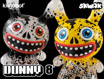 Kidrobot - Oil Slick 8 Inch Dunny Set by Skwak