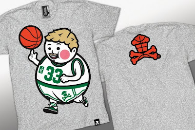 Johnny Cupcakes x NBA The Dream Team T-Shirts - Big Kid Larry T-Shirt (Online Exclusive)