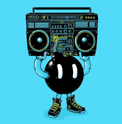 Threadless - Super Mario Bros. Themed T-shirt Boom Box by Alex Solis