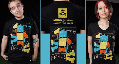 Johnny Cupcakes Artist Series 1 - Haus Guys and Girls T-Shirts by YASLY