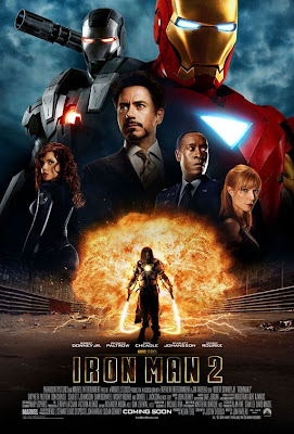 Iron Man 2 Final Theatrical One Sheet Movie Poster B