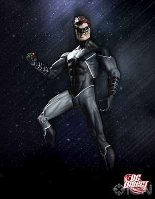 DC Direct x Graphitti Designs WonderCon Exclusive Black Lantern Hal Jordan Action Figure