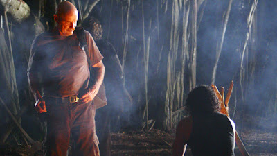 Lost - The Package - Terry O'Quinn as John Locke & Naveen Andrews as Sayid Jarrah