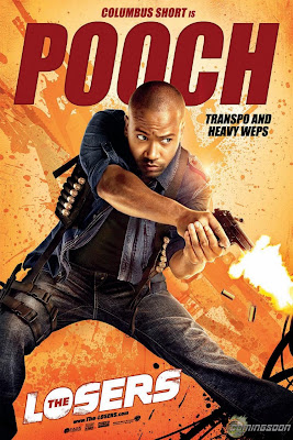 The Losers One Sheet Character Movie Posters - Columbus Short is Pooch