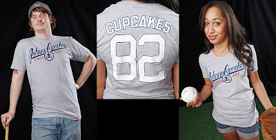 Johnny Cupcakes - JC Baseball Team T-Shirts