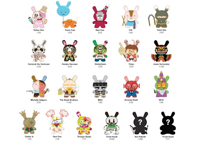 Kidrobot - Dunny Series 2010 Checklist and Ratios