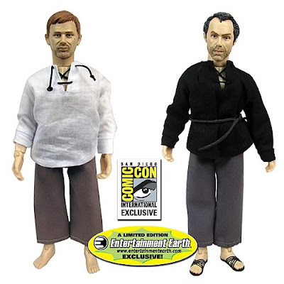 San Diego Comic-Con 2010 Exclusive LOST Jacob and Man in Black Retro Style Action Figures by Bif Bang Pow! and Entertainment Earth