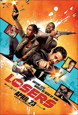 The Losers Final Theatrical One Sheet Movie Poster