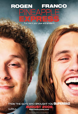 Pineapple Express Character Movie Posters - Seth Rogen and James Franco