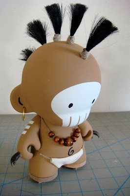 Huck Gee - Limited Edition Hand Painted Spike Munny