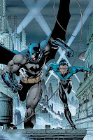 Batman and Nightwing Poster by Jim Lee